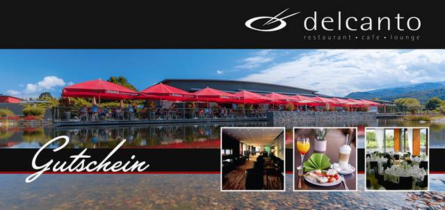 Delcanto Restaurant Café Events Logo