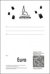 Gutschein Schwarz-Weiß